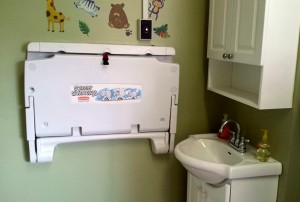 Nursery change station